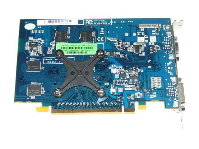 SAPPHIRE 100172L Radeon X1550 256MB 128-bit GDDR2 PCI Express x16 Video Card