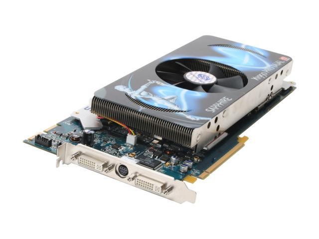 SAPPHIRE 100202SR Dual X1950PRO 1GB 256-bit GDDR3 PCI Express x16 HDCP Ready CrossFireX Support Video Card