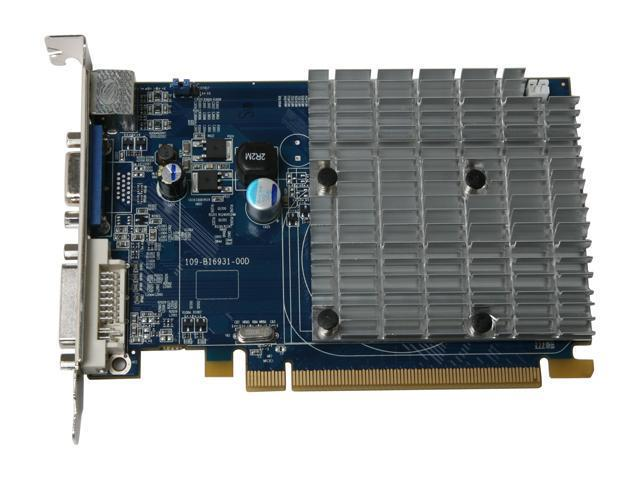 SAPPHIRE 100203L Radeon HD 2400PRO 256MB 64-bit GDDR2 PCI Express x16 HDCP Ready CrossFireX Support Video Card