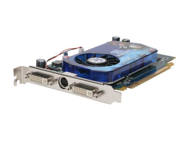 SAPPHIRE 100207L Radeon HD 2600PRO 512MB 128-bit GDDR2 PCI Express x16 HDCP Ready CrossFireX Support Video Card