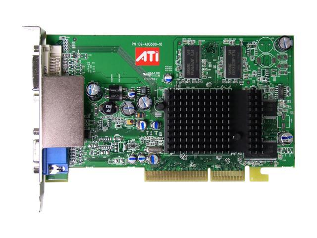 ATI 100-437105 Radeon 9550 256MB 128-bit DDR AGP 4X/8X Video Card