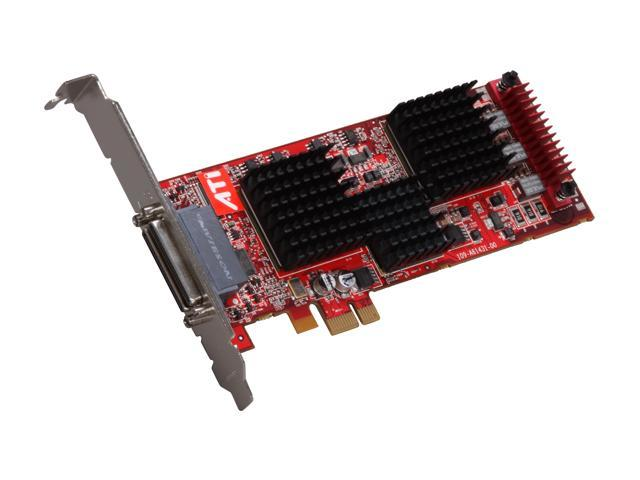 ATI 100-505115 FireMV 2400 256MB DDR PCI Express x1 Low Profile Workstation Video Card
