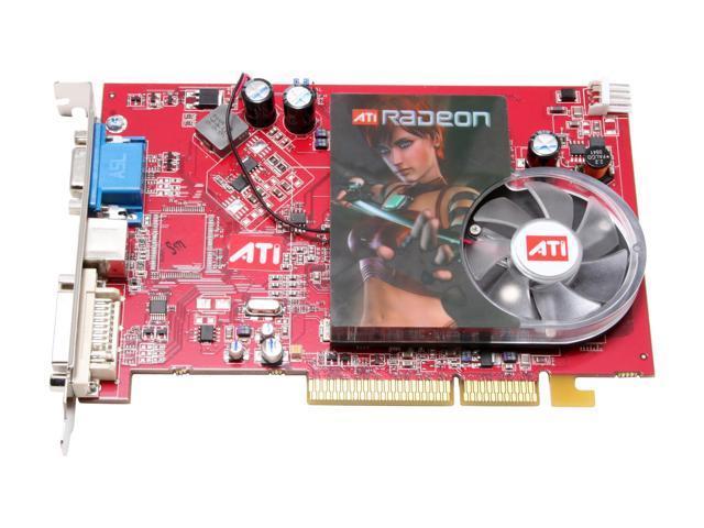 ATI 100-437602 Radeon X1300PRO 256MB 128-bit GDDR2 AGP 4X/8X Video Card