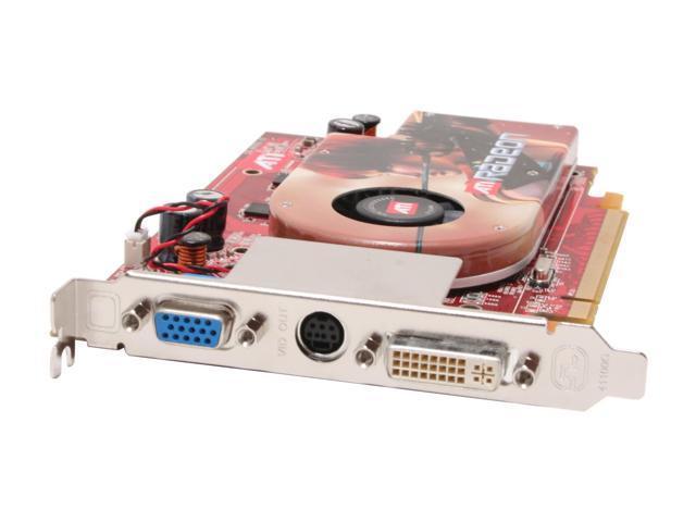 ATI 100-437601 Radeon X1300PRO 256MB 128-bit GDDR2 PCI Express x16 CrossFireX Support Video Card