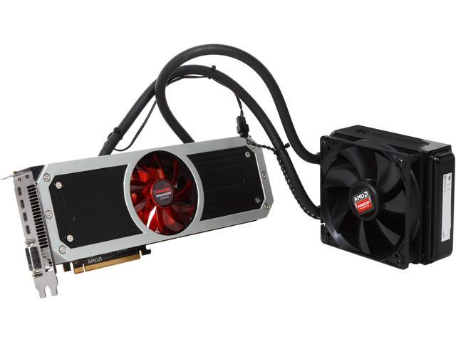 DIAMOND Radeon R9 295x2 DirectX 11.2 R9295X2D58G Video Card
