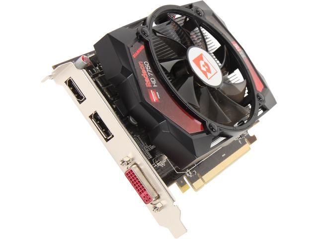DIAMOND HD 7000 Radeon HD 7750 7750PE51GV 1GB 128-Bit GDDR5 PCI Express 3.0 x16 CrossFireX Support Plug-in Card Video Card