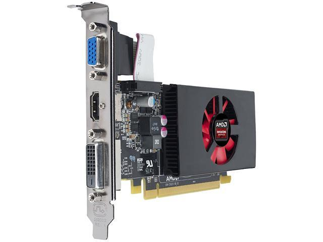 AMD Radeon R7 240 2GB GDDR3 16X PCIe Video Card