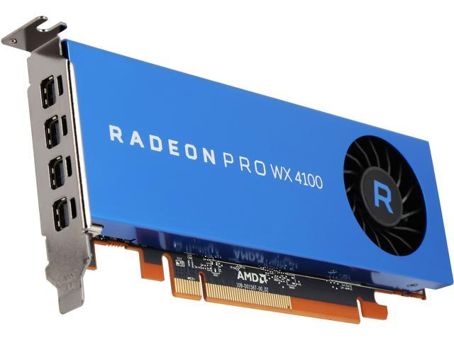 AMD Radeon Pro WX 4100 100-506008 4GB 128-bit GDDR5 Video Cards - Workstation
