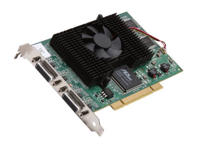 Matrox G450 G45X4QUAD-BF 128MB DDR PCI Workstation Video Card