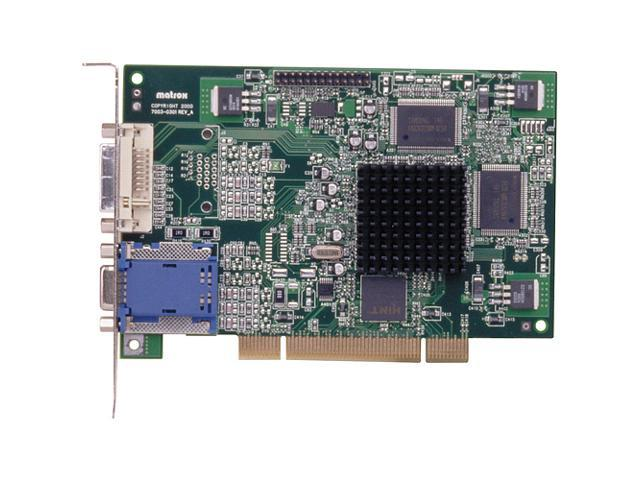 matrox G Series G450 G45FMDVP32DSF 32MB 32-Bit DDR PCI 32MB DDR PCI Video Card