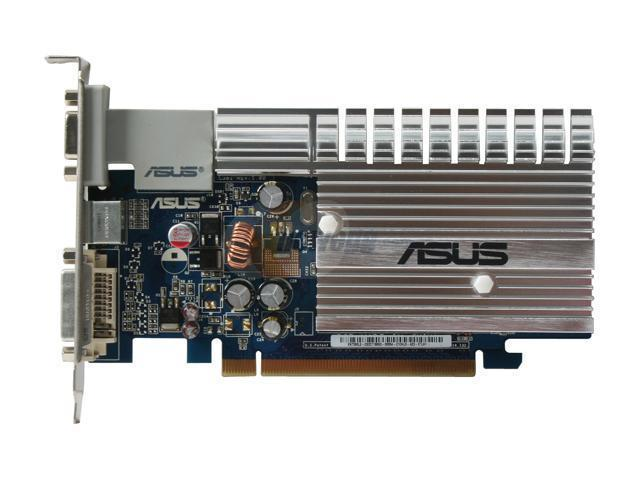 ASUS EN7300LE/HTD/128M GeForce 7300LE Supporting to 512MB(128MB on BoarD) 64-bit GDDR2 PCI Express x16 Video Card
