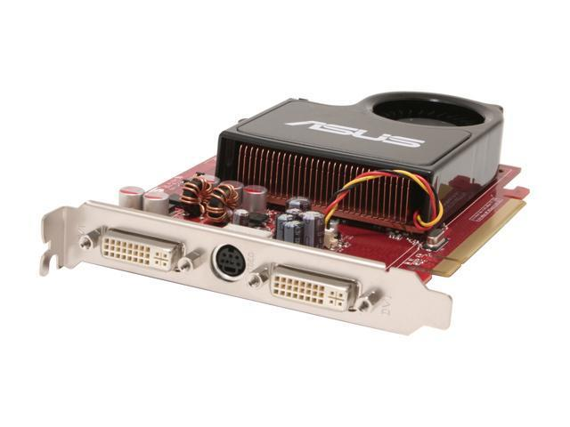 ASUS EAX1650XT CrossFire/2DHT/256M/A Radeon X1650XT 256MB 128-bit GDDR3 PCI Express x16 Video Card