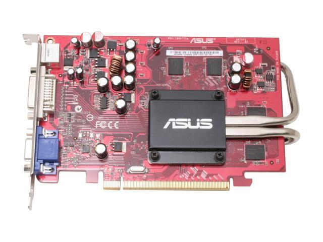 ASUS EAX1600PRO SILENT/TD/512M Radeon X1600PRO 512MB 128-bit GDDR2 PCI Express x16 Video Card