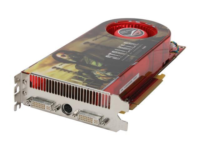 ASUS EAH2900XT/G/HTVDI/512M Radeon HD 2900XT 512MB 512-bit GDDR3 PCI Express x16 HDCP Ready CrossFireX Support Video Card