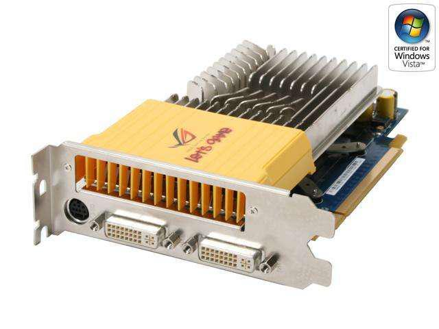 ASUS EN8600GT SILENT/HTDP/256M GeForce 8600 GT 256MB 128-bit GDDR3 PCI Express x16 HDCP Ready SLI Support Video Card