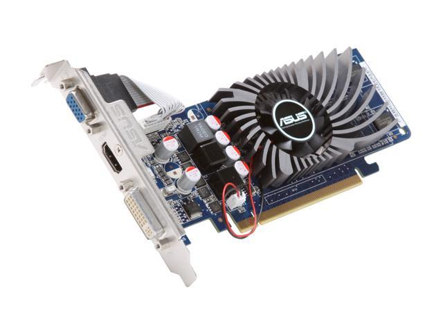 ASUS ENGT220/DI/1GD2(LP) GeForce GT 220 1GB 128-bit DDR2 PCI Express 2.0 x16 HDCP Ready Low Profile Ready Video Card
