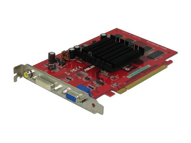 ASUS EAX300SE-X/TD/128 Radeon X300SE 128MB 64-bit DDR PCI Express x16 Video Card