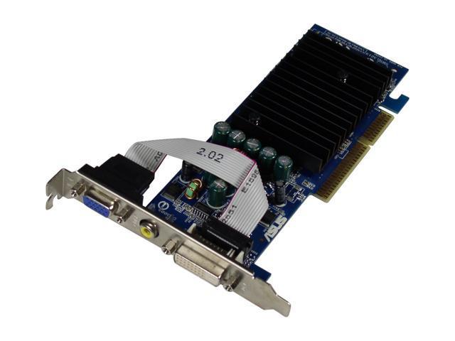 ASUS N6200/TD/128 GeForce 6200 128MB 64-bit DDR AGP 4X/8X Video Card