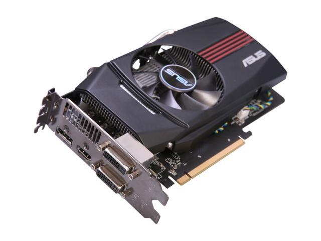 ASUS Radeon HD 7770 DirectX 11 HD7770-DC-1GD5-V2 1GB 128-Bit GDDR5 PCI Express 3.0 x16 HDCP Ready CrossFireX Support Video Card