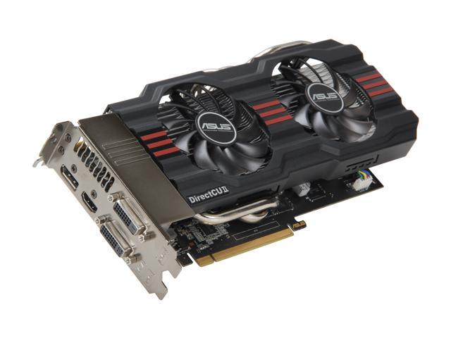 ASUS GeForce GTX 660 Ti DirectX 11 GTX660 TI-DC2T-2GD5 Video Card