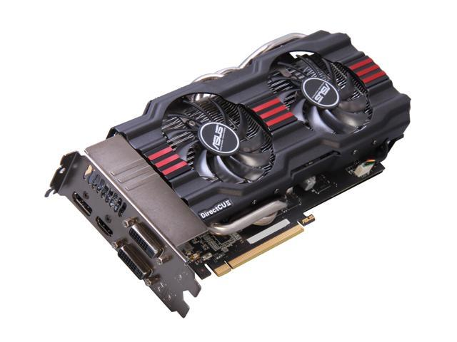 ASUS GTX 600 GeForce GTX 680 DirectX 11 GTX680-DC2-4GD5 4GB 256-Bit GDDR5 PCI Express 3.0 HDCP Ready SLI Support Plug-in Card Video Card