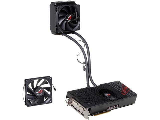 ASUS Radeon HD 7970 GHz Edition x 2 DirectX 11 ROG ARES II (ARES2-6GD5) 6GB 384-Bit x2 GDDR5 PCI Express 3.0 x16 CrossFireX Support Video Card