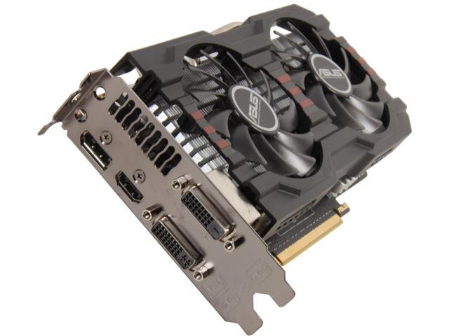 ASUS GeForce GTX 650 Ti BOOST DirectX 11.1 GTX650TIB-DC2OC-2GD5 Video Card