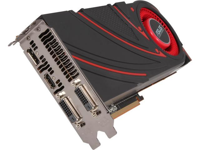 ASUS Radeon R9 290X DirectX 11.2 R9290X-G-4GD5 Video Card - Bundled with BF4 coupon and door hanger