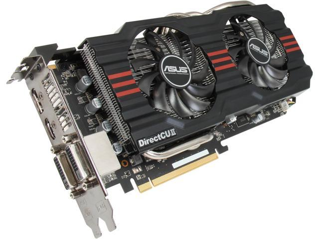 ASUS HD7870-DC2-2GD5-V2 Radeon HD 7870 GHz Edition 2GB 256-Bit GDDR5 PCI Express 3.0 x16 HDCP Ready CrossFireX Support Video Card Manufactured Recertified