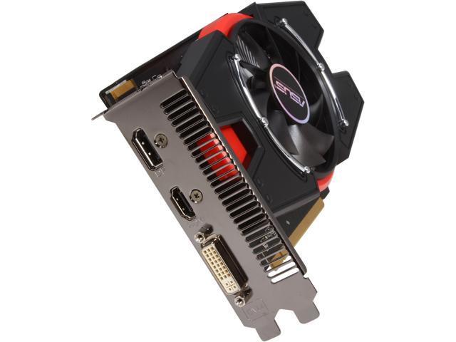 ASUS R7250X-1GD5 Radeon R7 250X 1GB GDDR5 PCI Express 3.0 Video Card