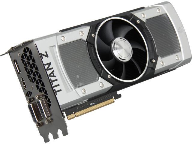 ASUS GTXTITANZ-12GD5 G-SYNC Support GeForce GTX TITAN Z 12GB 768-Bit GDDR5 PCI Express 3.0 HDCP Ready SLI Support Video Card