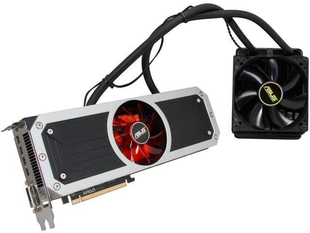 ASUS Radeon R9 295x2 DirectX 11.2 R9295X2-8GD5 8GB 1024 (512 x 2)-Bit GDDR5 PCI Express 3.0 HDCP Ready CrossFireX Support Video Card