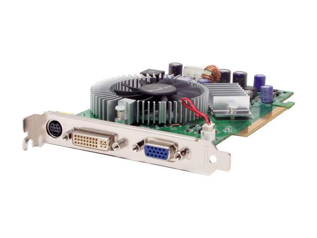 Leadtek WinFast A7600GT TDH 256MB GeForce 7600GT 256MB 128-bit GDDR3 AGP 8X Video Card