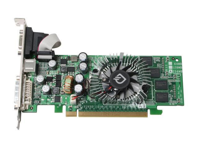 Leadtek PX7600GS TDH LP GeForce 7600GS 256MB 128-bit GDDR2 PCI Express x16 SLI Support Low Profile Ready Video Card