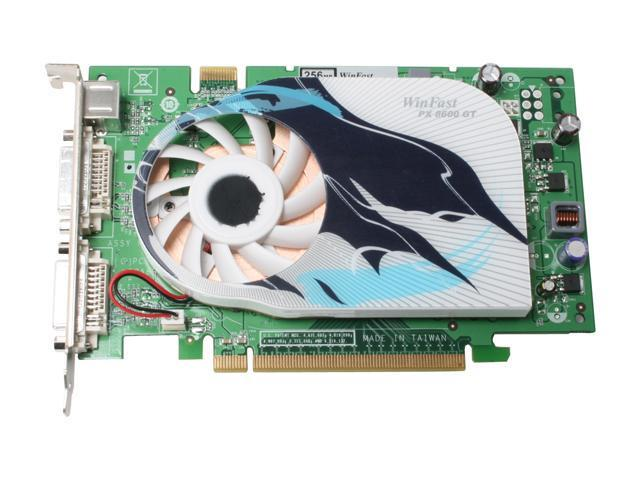 Leadtek PX8600GT 256MB Standard GeForce 8600 GT 256MB 128-bit GDDR3 PCI Express x16 SLI Support Video Card