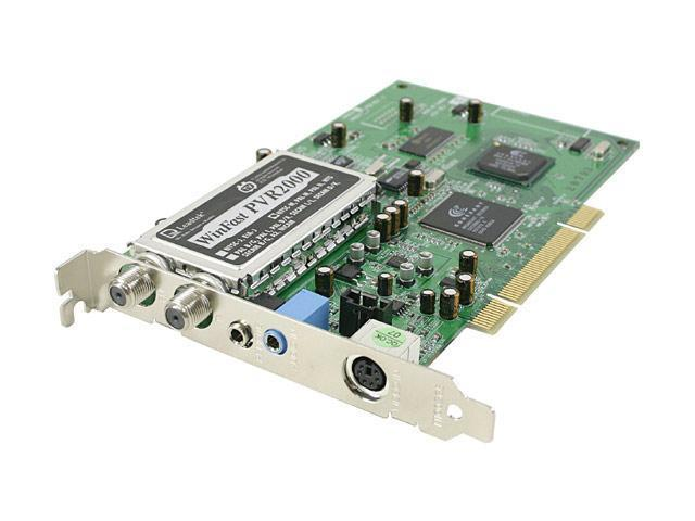 Leadtek Personal digital video recorder PVR2000 PCI Interface