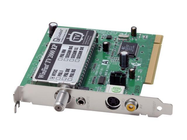 Leadtek Tuner Card with Remote Control TV2000XP RM PCI Interface