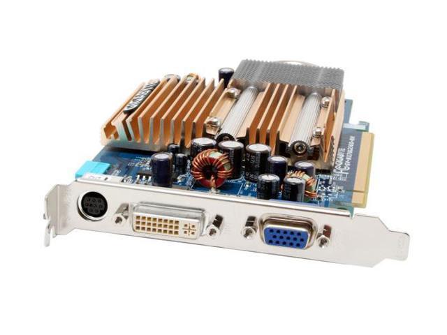 GIGABYTE GV-NX76G256D-RH GeForce 7600GS 256MB 128-bit GDDR2 PCI Express x16 SLI Support Video Card