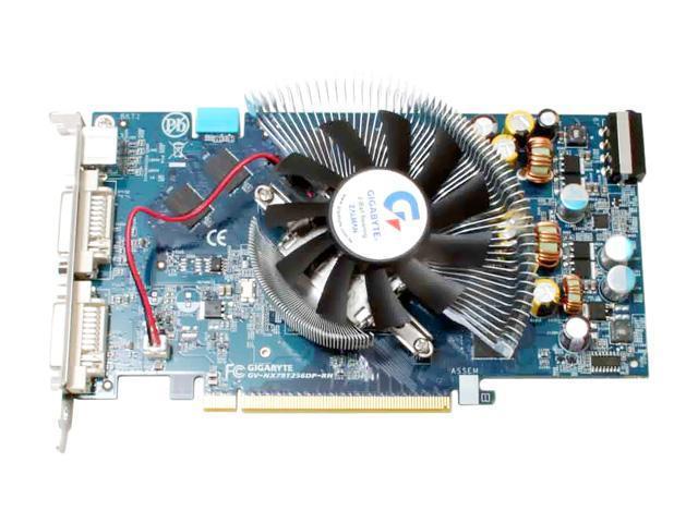 GIGABYTE GV-NX79T256DP-RH-ED GeForce 7900GT 256MB 256-bit GDDR3 PCI Express x16 SLI Support Video Card