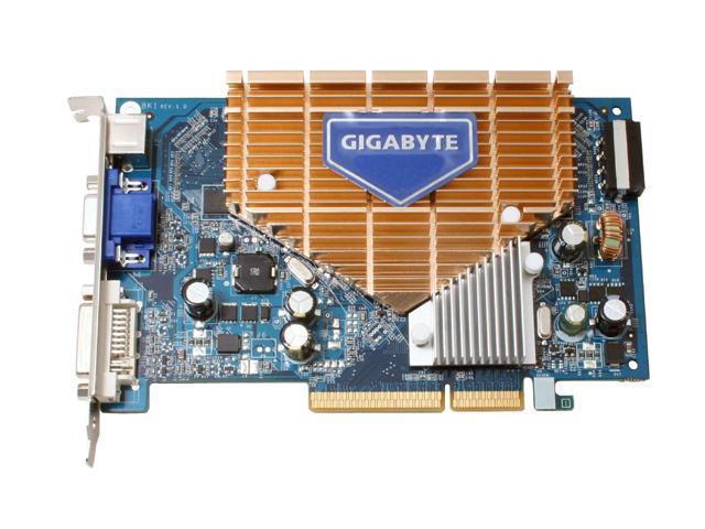 GIGABYTE GV-N76G256D-RH GeForce 7600GS 256MB 128-bit GDDR2 AGP 8X Video Card