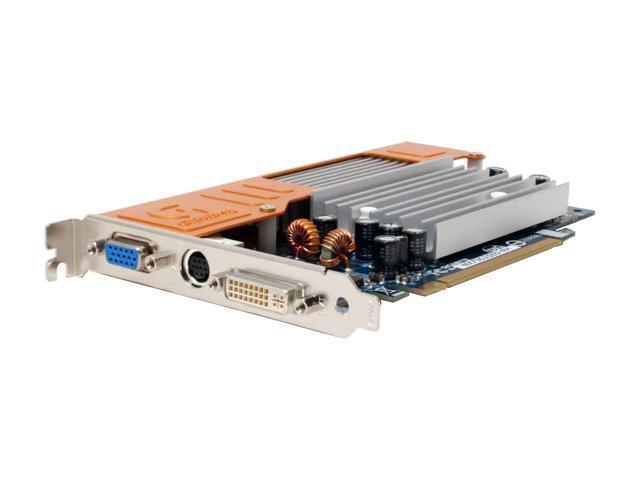 GIGABYTE GV-NX73G256D-RH GeForce 7300GS 512MB(256MB on Board) 64-bit GDDR2 PCI Express x16 SLI Support Video Card
