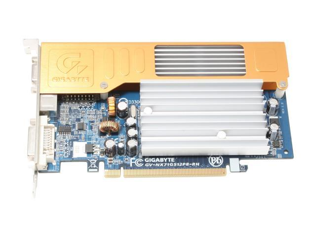 GIGABYTE GV-NX71G512P8-RH GeForce 7100GS 512MB(128MB on Board) 64-bit GDDR2 PCI Express x16 SLI Support Video Card