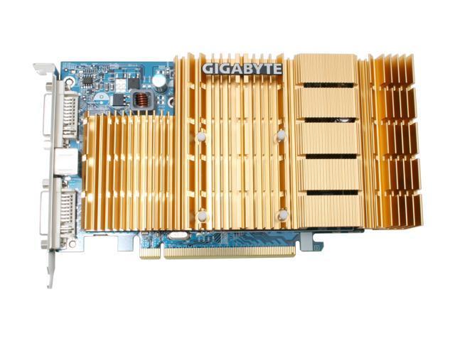 GIGABYTE GV-RX165256D-RH Radeon X1650 256MB 128-bit GDDR2 PCI Express x16 CrossFireX Support Video Card