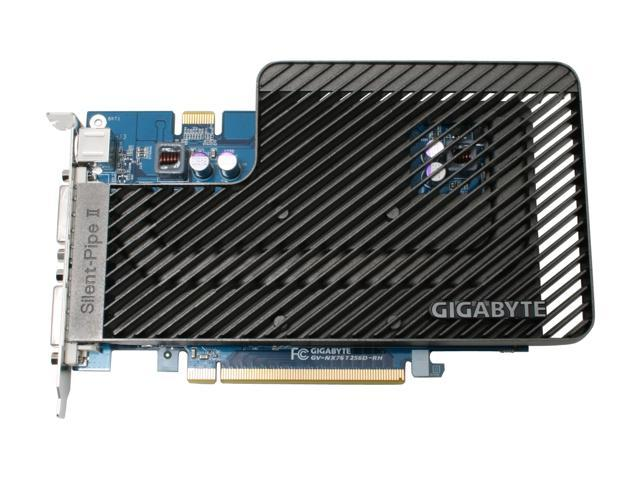 GIGABYTE GV-NX76T256D-RH GeForce 7600GT 256MB 128-bit GDDR3 PCI Express x16 SLI Support Video Card