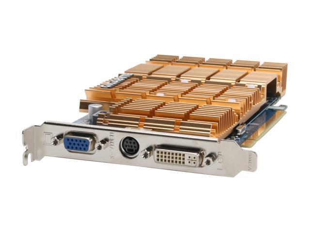 GIGABYTE GV-RX155256D-RH Radeon X1550 256MB 128-bit GDDR2 PCI Express x16 CrossFireX Support Video Card