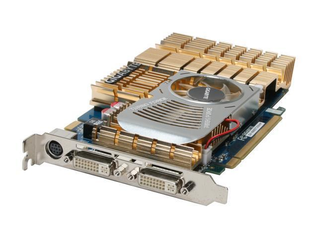 GIGABYTE GV-NX85T256HP GeForce 8500 GT 256MB 128-bit GDDR3 PCI Express x16 HDCP Ready SLI Support Video Card