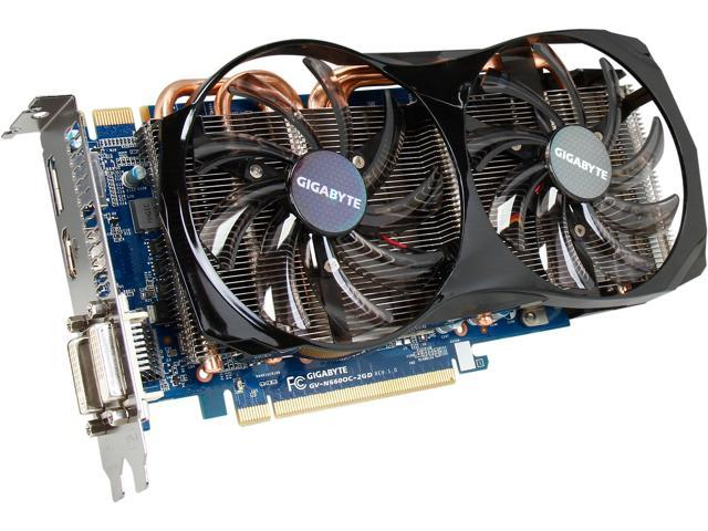 GIGABYTE GV-N660OC-2GD G-SYNC Support GeForce GTX 660 2GB 192-Bit GDDR5 PCI Express 3.0 x16 HDCP Ready SLI Support Video Card