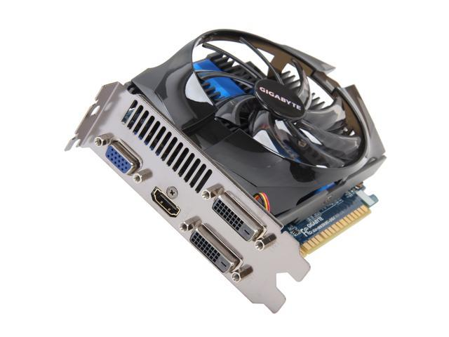 GIGABYTE GeForce GTX 650 DirectX 11 GV-N650OC-2GI 2GB 128-Bit GDDR5 PCI Express 3.0 x16 HDCP Ready Video Card