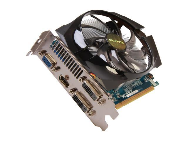 GIGABYTE GeForce GTX 650 DirectX 11.1 GV-N650OC-1GI Video Card