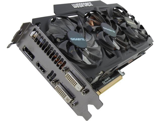 GIGABYTE GeForce GTX 780 DirectX 11 GV-N780OC-3GD Video Card